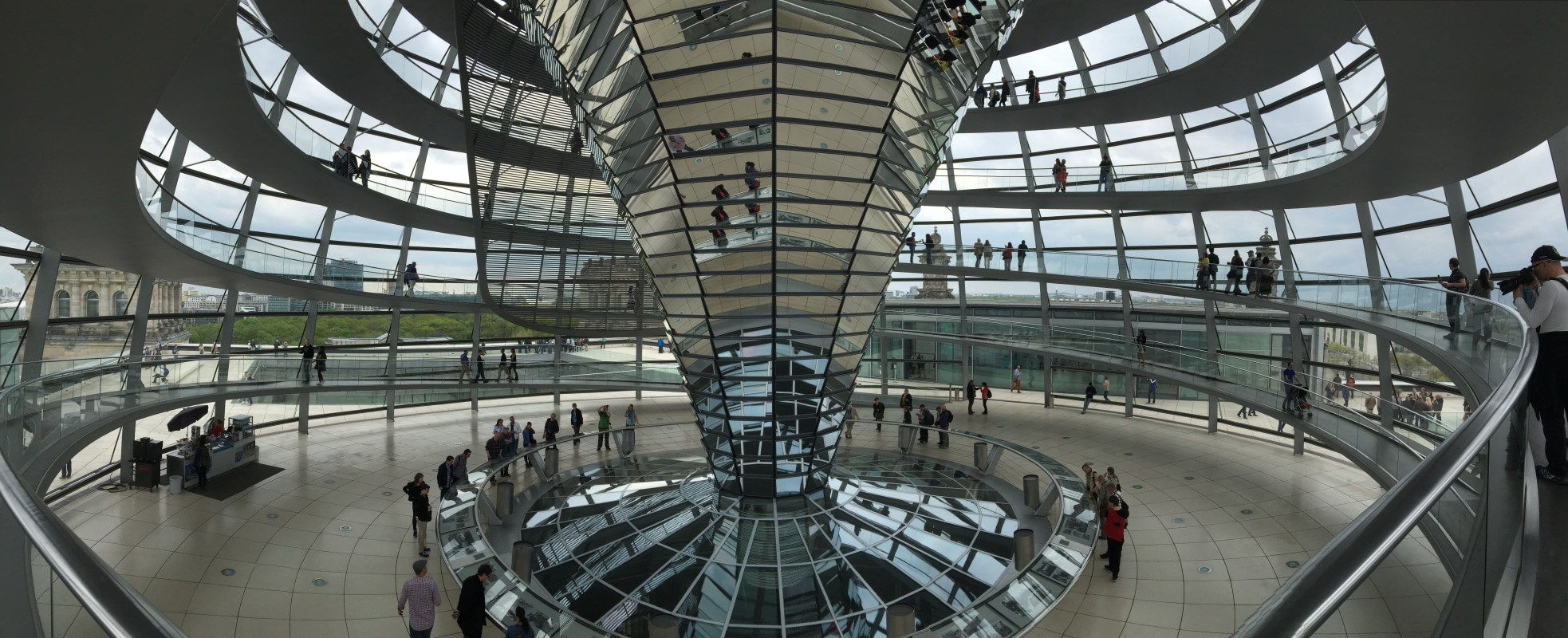 The Reichstag by Foster+Partners