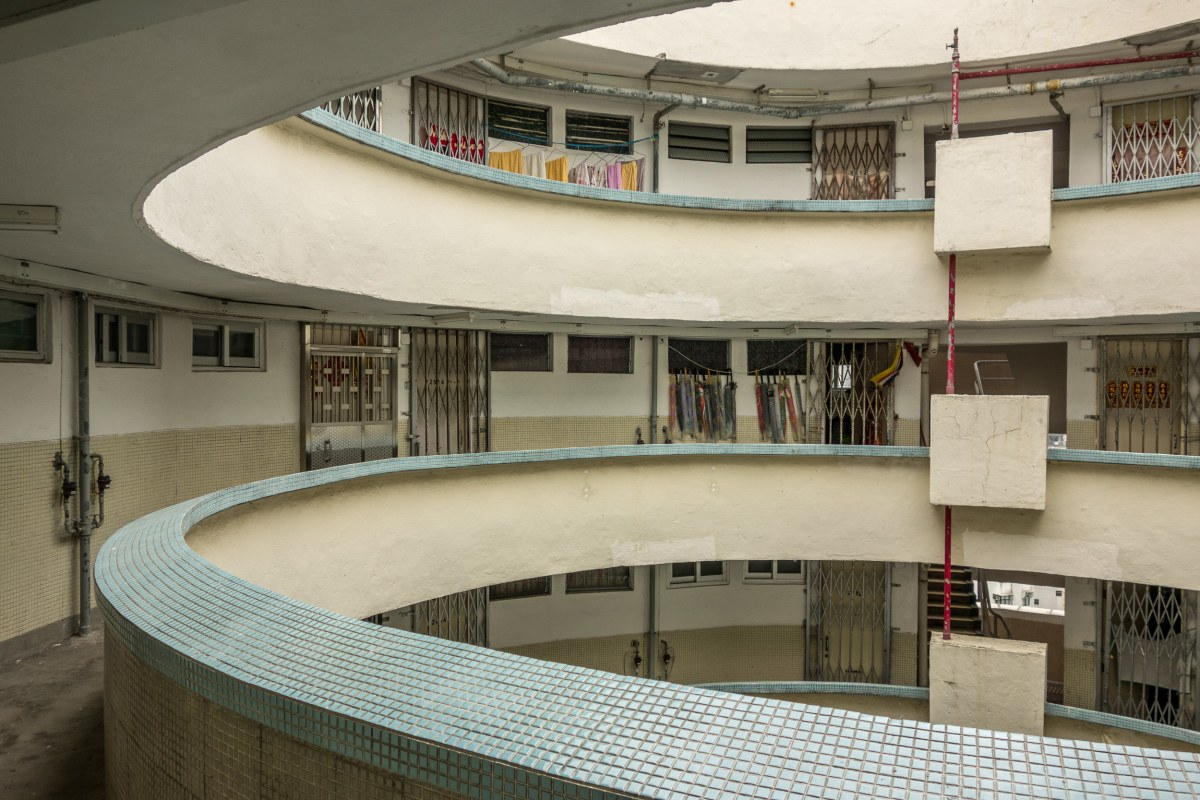 The atrium of Lai Tak Tsuen