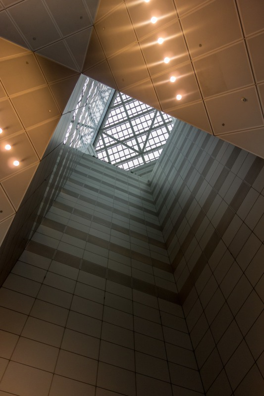 Bank of China Tower Central Atrium