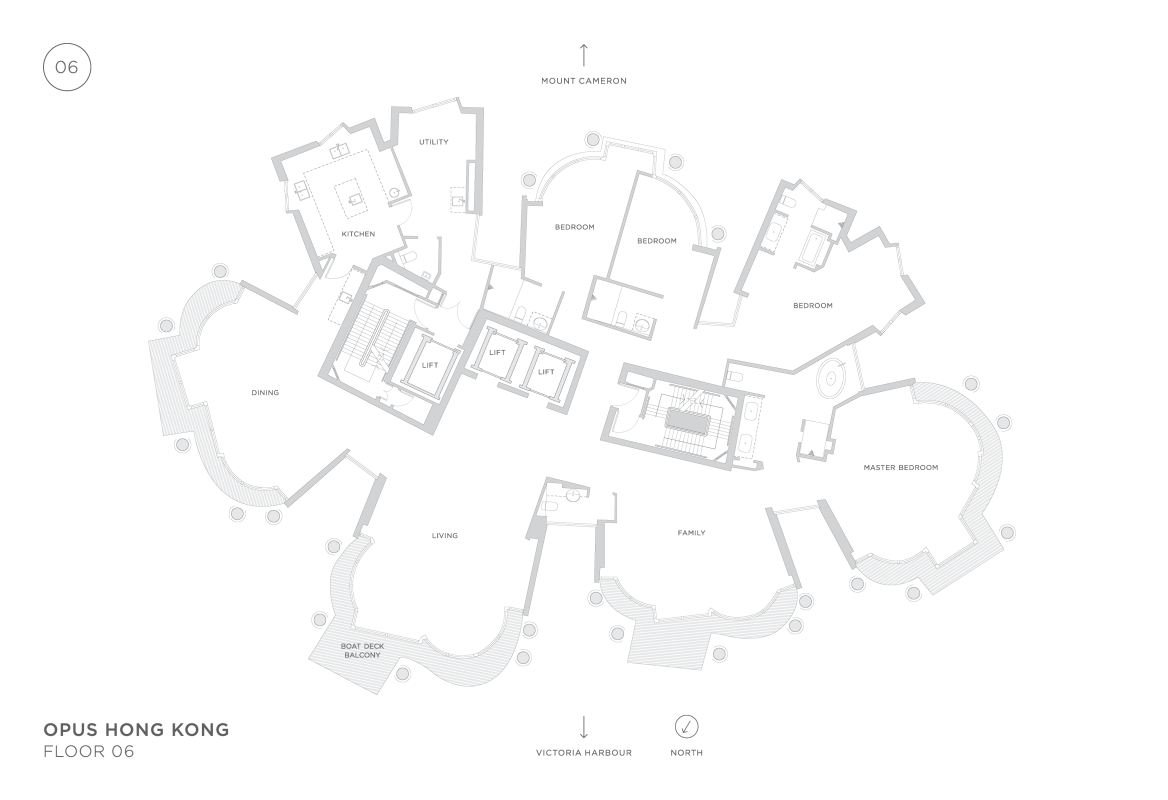OPUS Hong Kong Floorplan