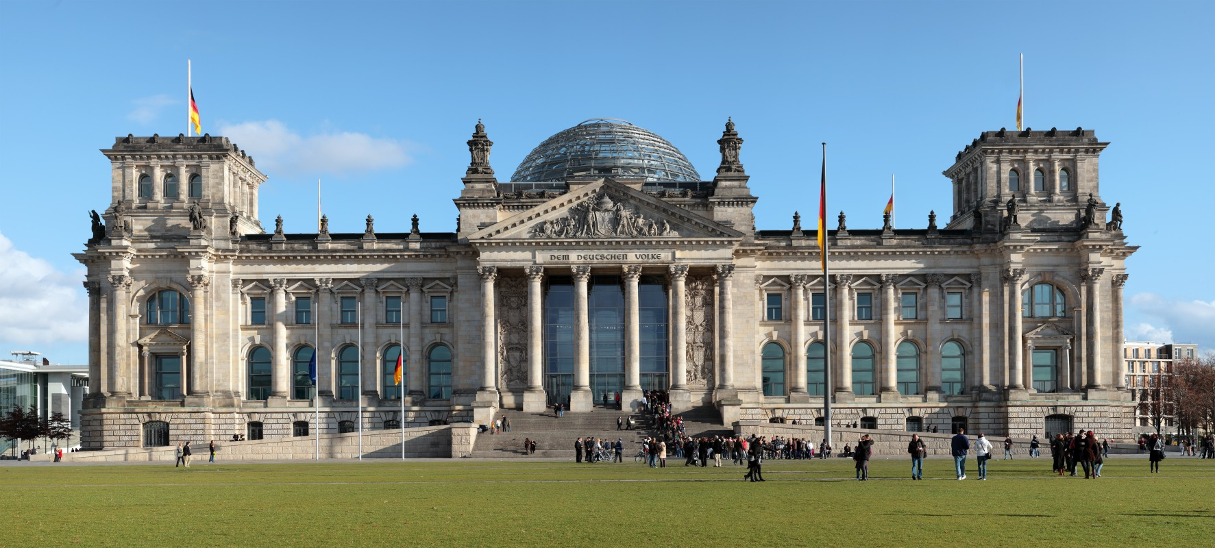 The Reichstag, west elevation