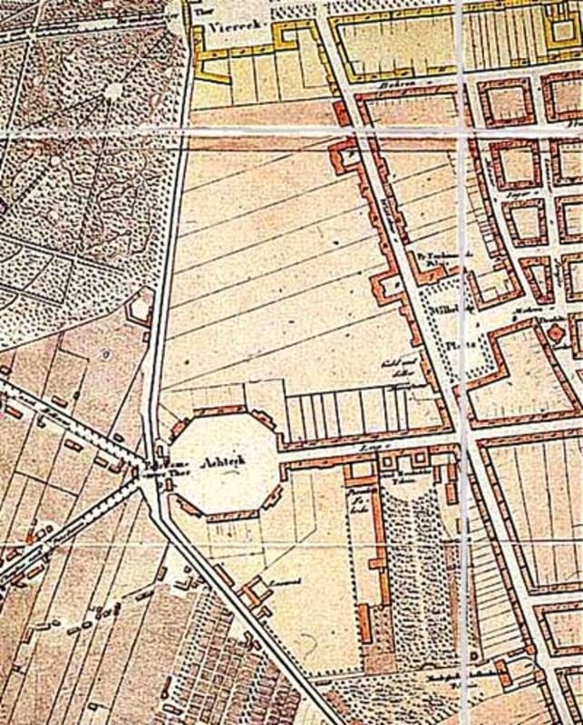 Leipziger Platz around 1800