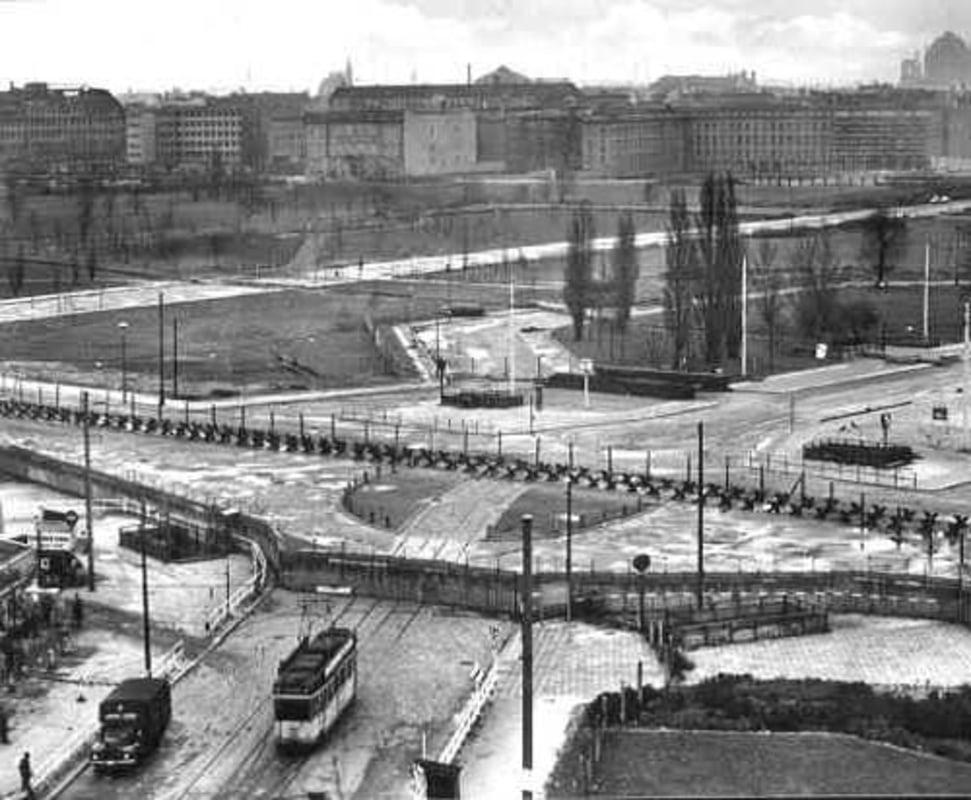 Potsdamer Platz during the Cold War