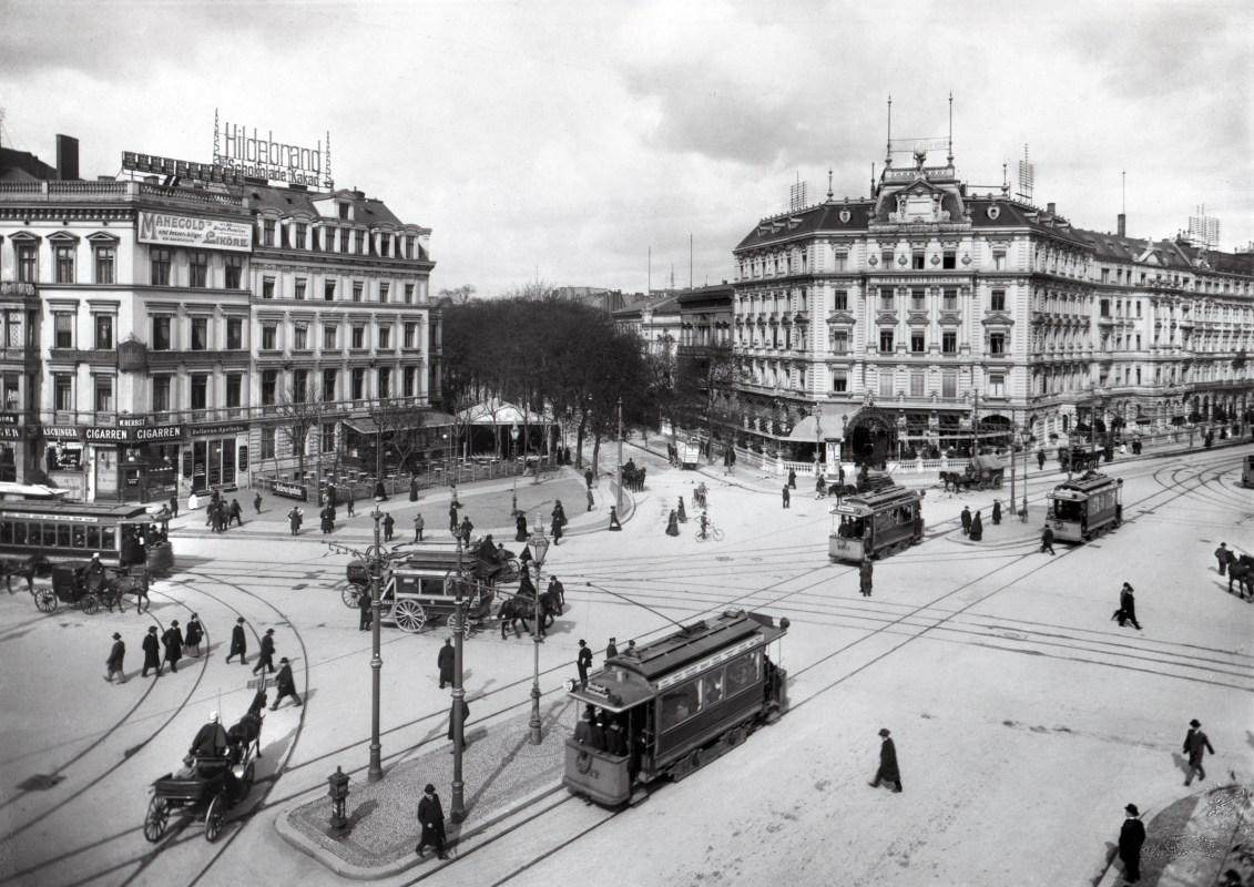 Potsdamer Platz in the 1920s