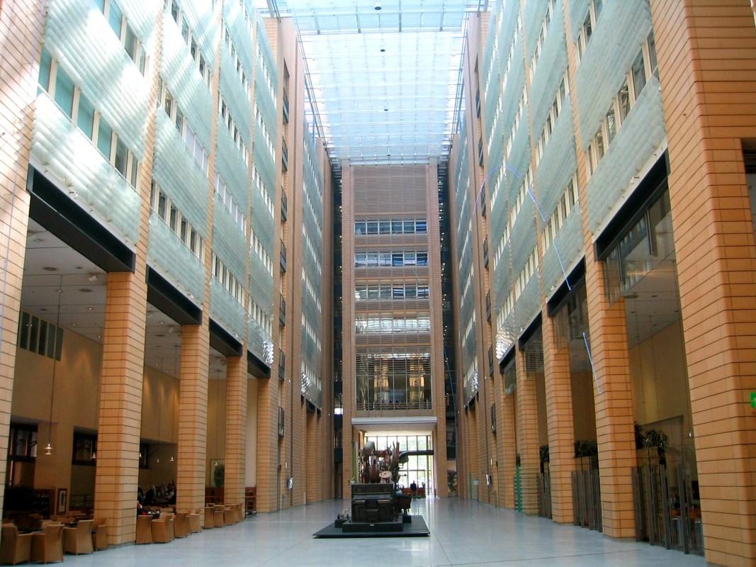 Debis Tower - Atrium