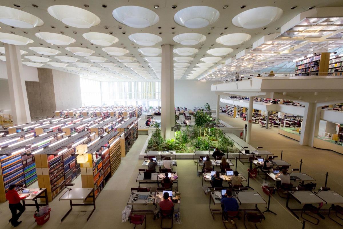 Staatsbibliothek zu Berlin - Reading Hall