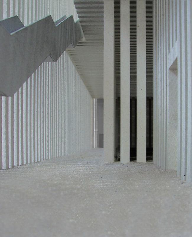 Interior spaces of Zumthor's design