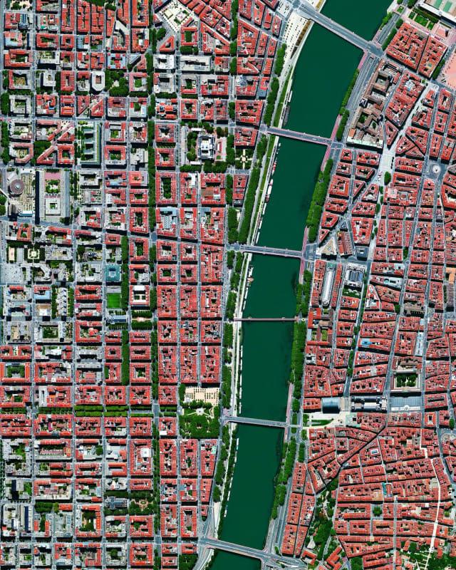 Lyon, via Daily Overview