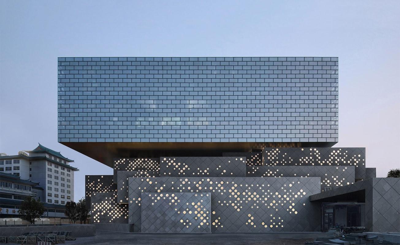 Ole Scheeren's Guardian Art Center in Beijing