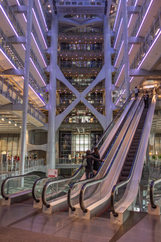 The HSBC Atrium