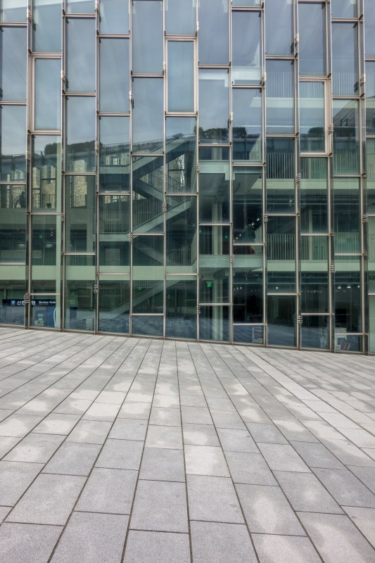 Ewha Womans University - The facade pattern revealing the building's interior life