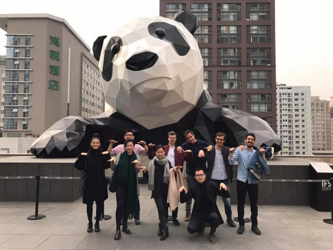 During one of our recent office trips to Chengdu, in the Sichuan Province.