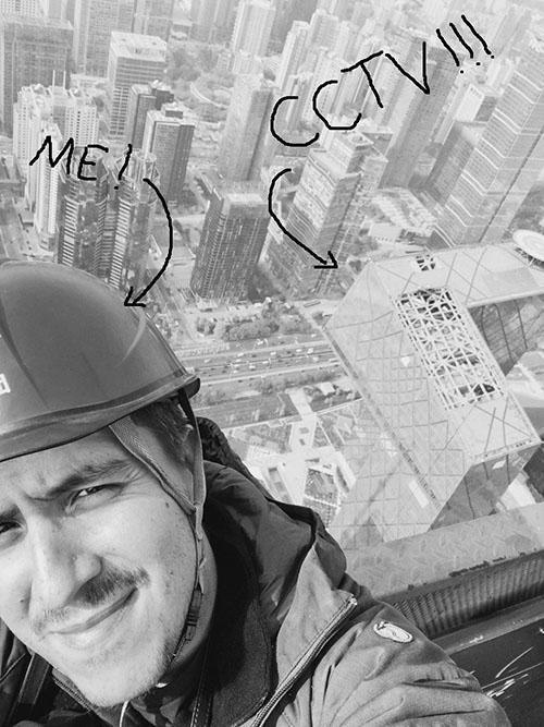 Daniel da Rocha in Beijing