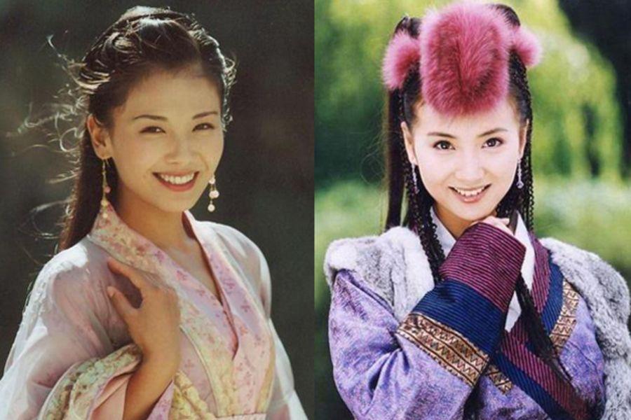 A Châu – A Tử của phiên bản năm 2003 do Lưu Đào (trái) và Trần Hảo thể hiện  rất thành công.