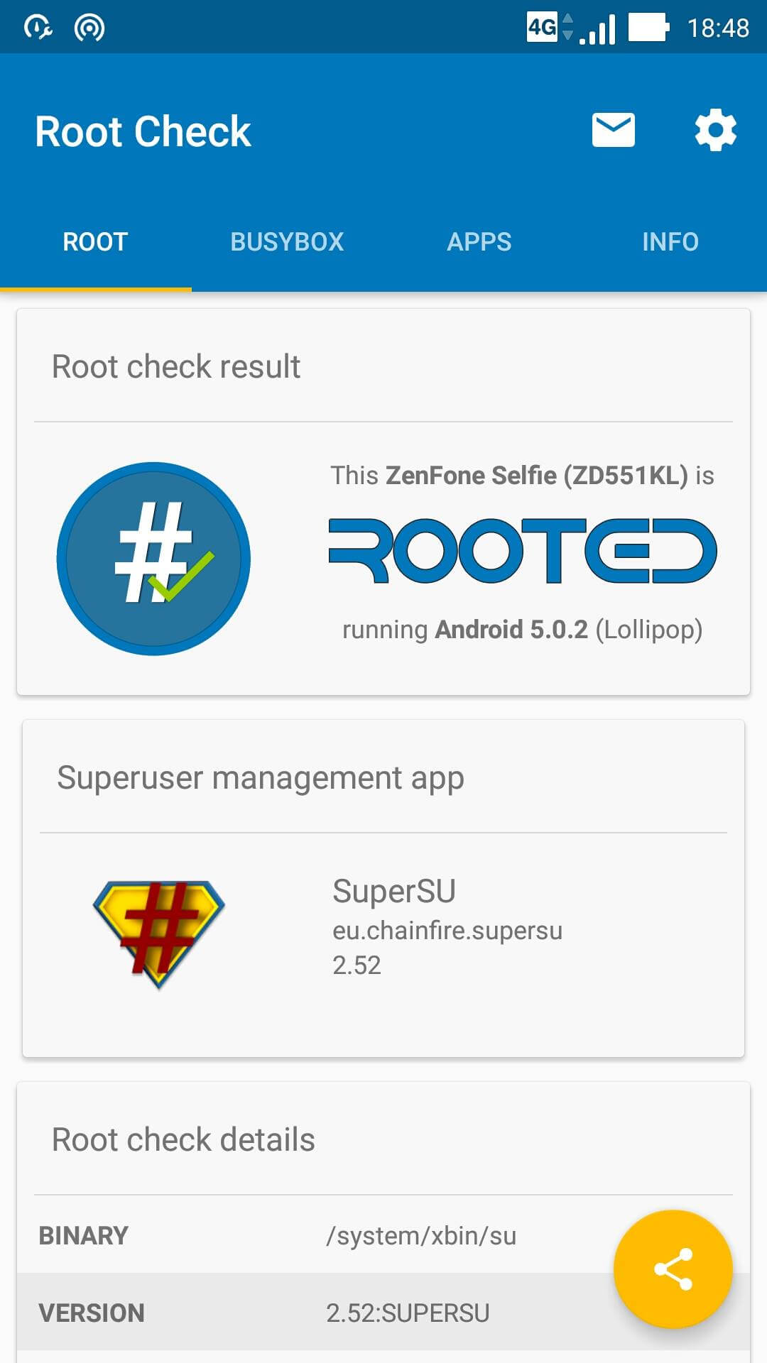 How to Root ASUS ZenFone Selfie ZD551KL – Taufiq Hasan