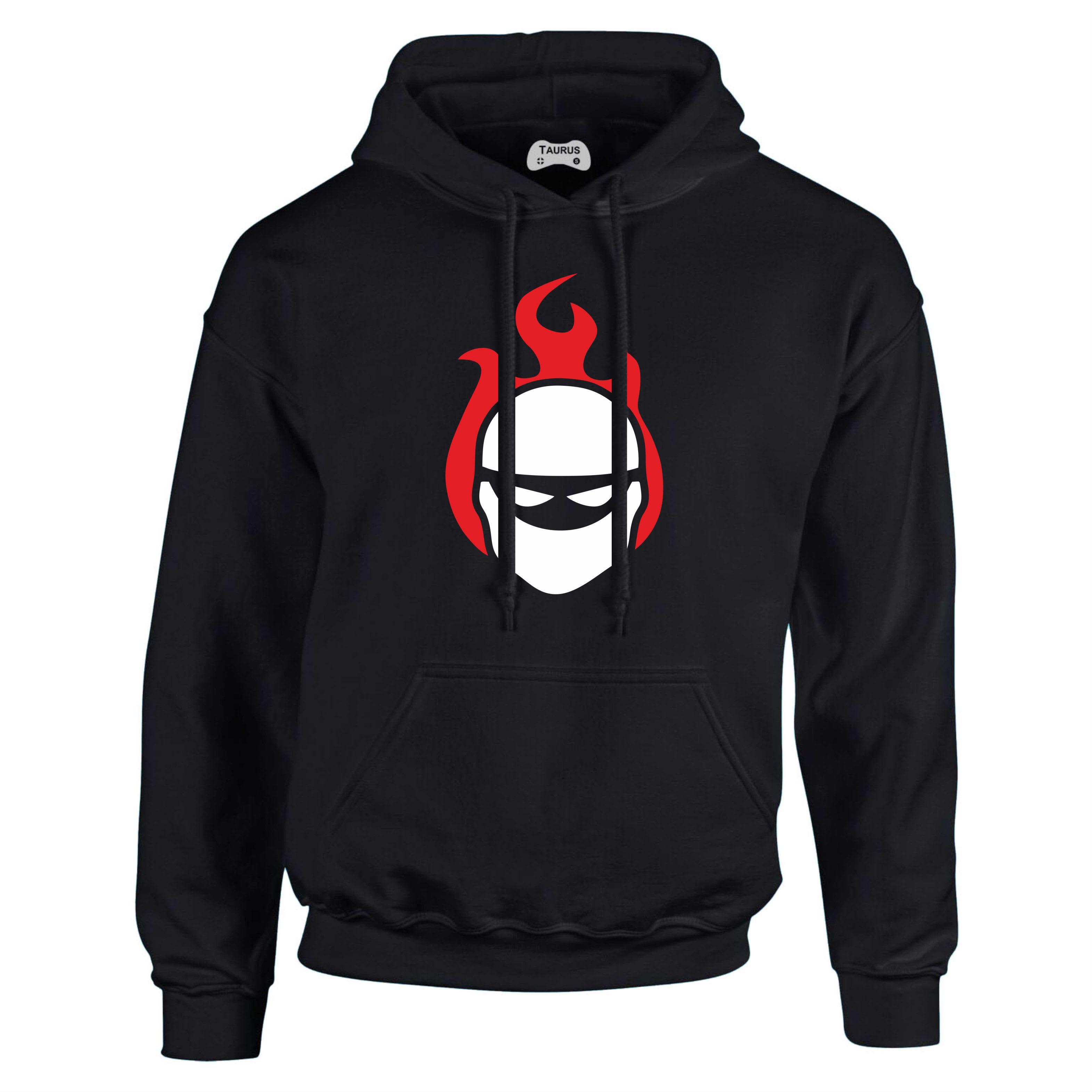 Halo Hoodie Flaming Ninja