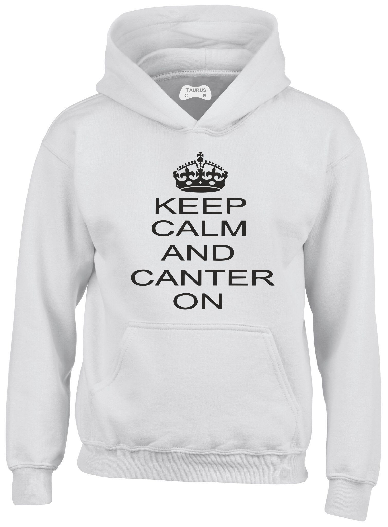 Canter On Kids Hoodie