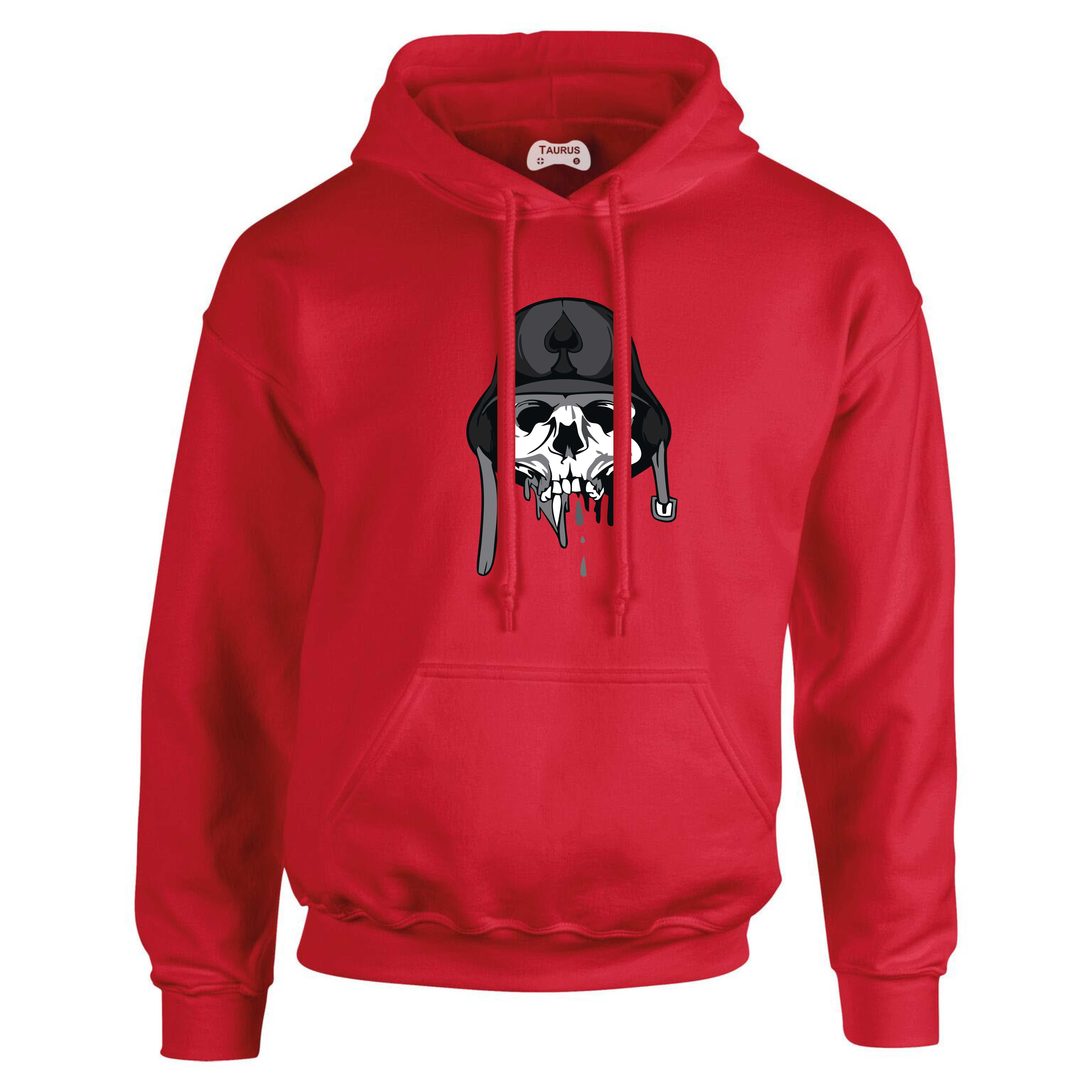 Skull Hat Hoodie