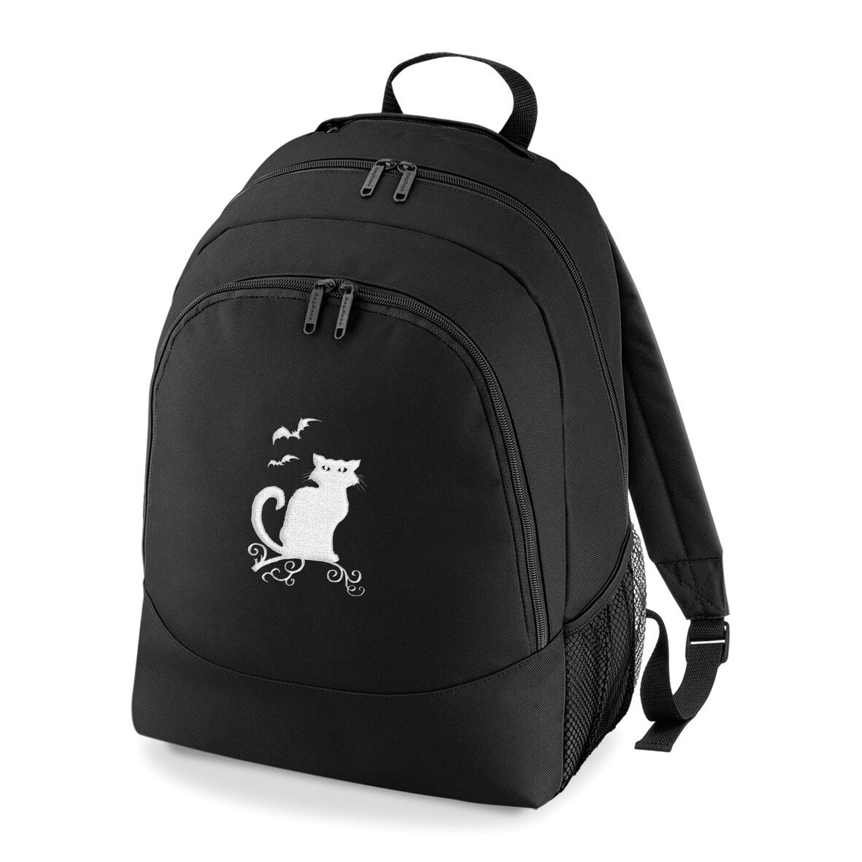 Halloween Cat Rucksack Bag