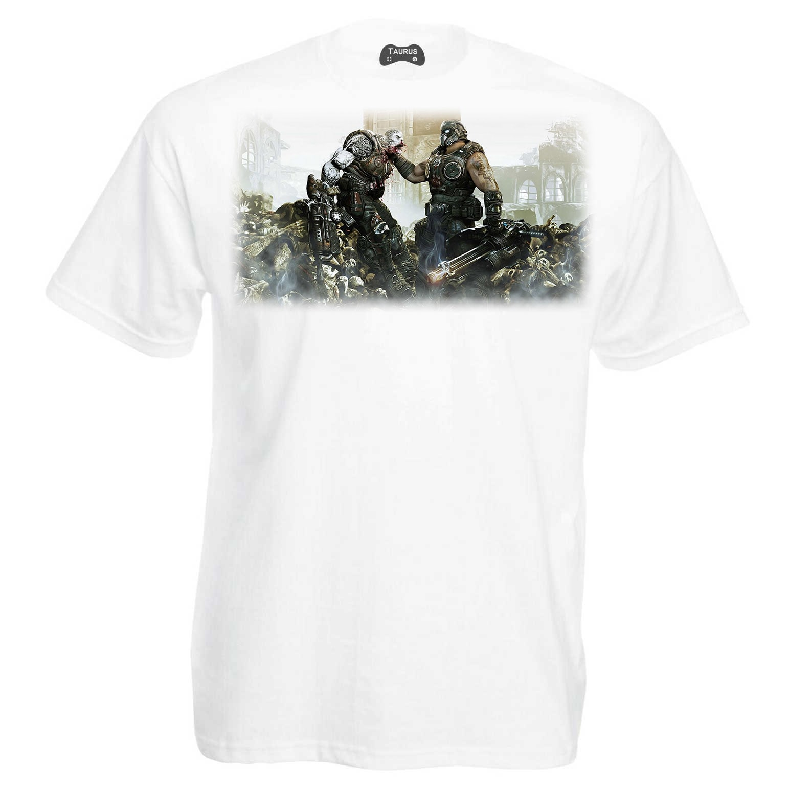 Gears of War 4 T-Shirt Face Off