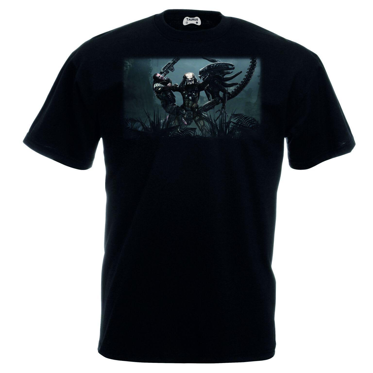 Alien V Predator T-Shirt All Three