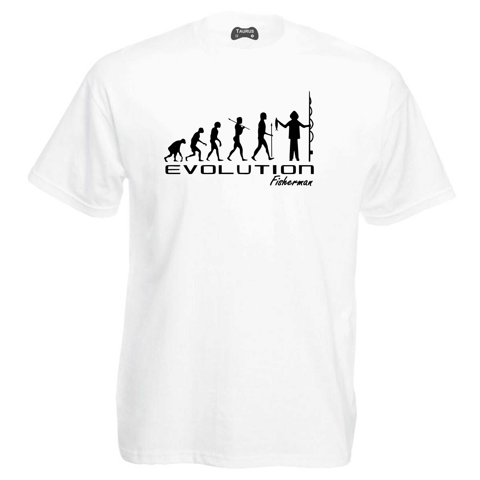 Evolution Of Fisherman T-Shirt