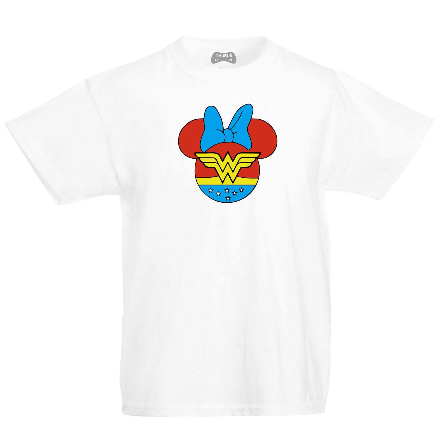 Minnie Wonder Woman Kids T-Shirt