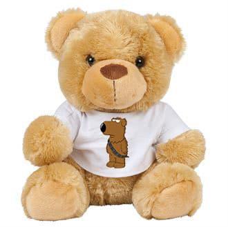 Family Guy Brian As Chewbacca Teddy Bear