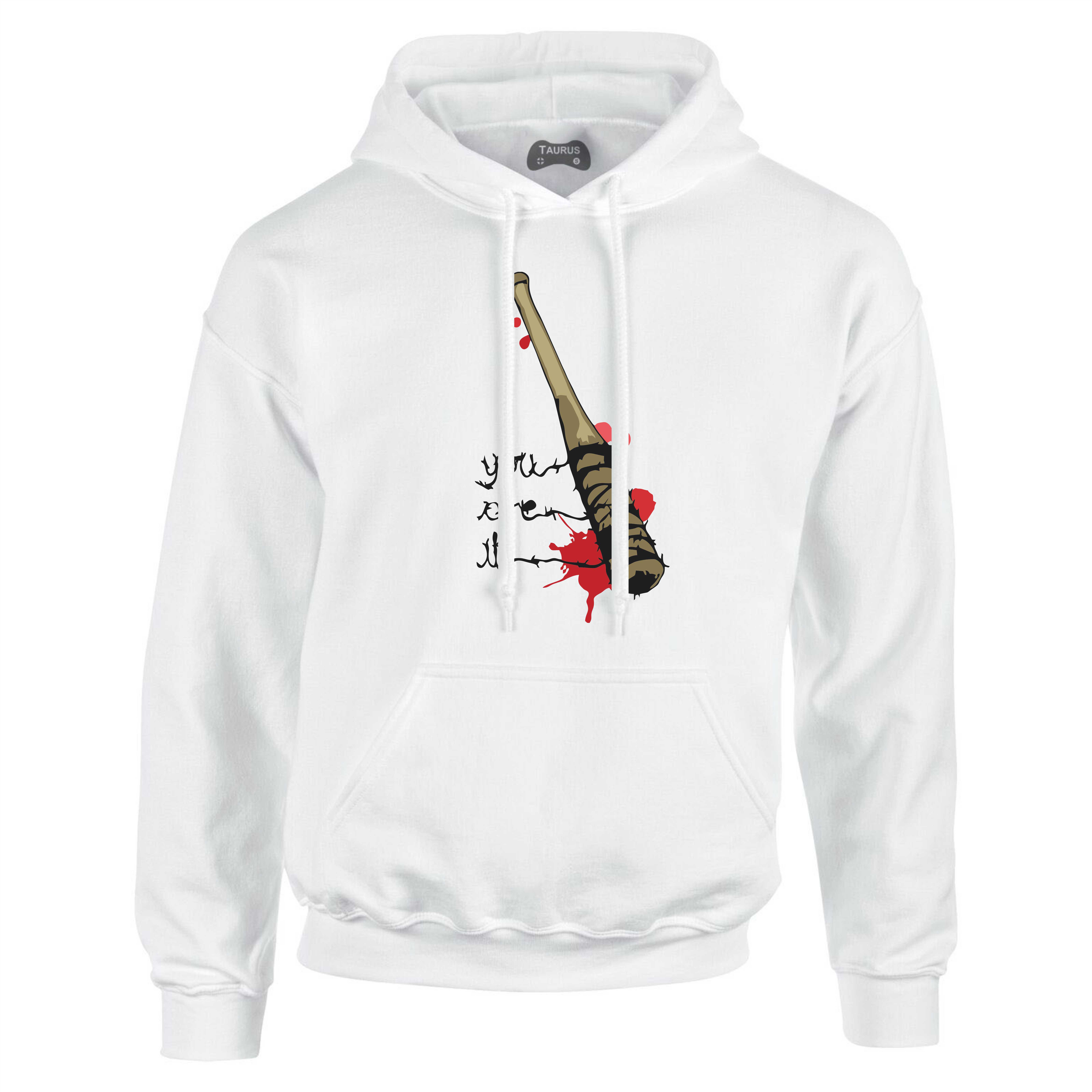 The Walking Dead Hoodie Lucille