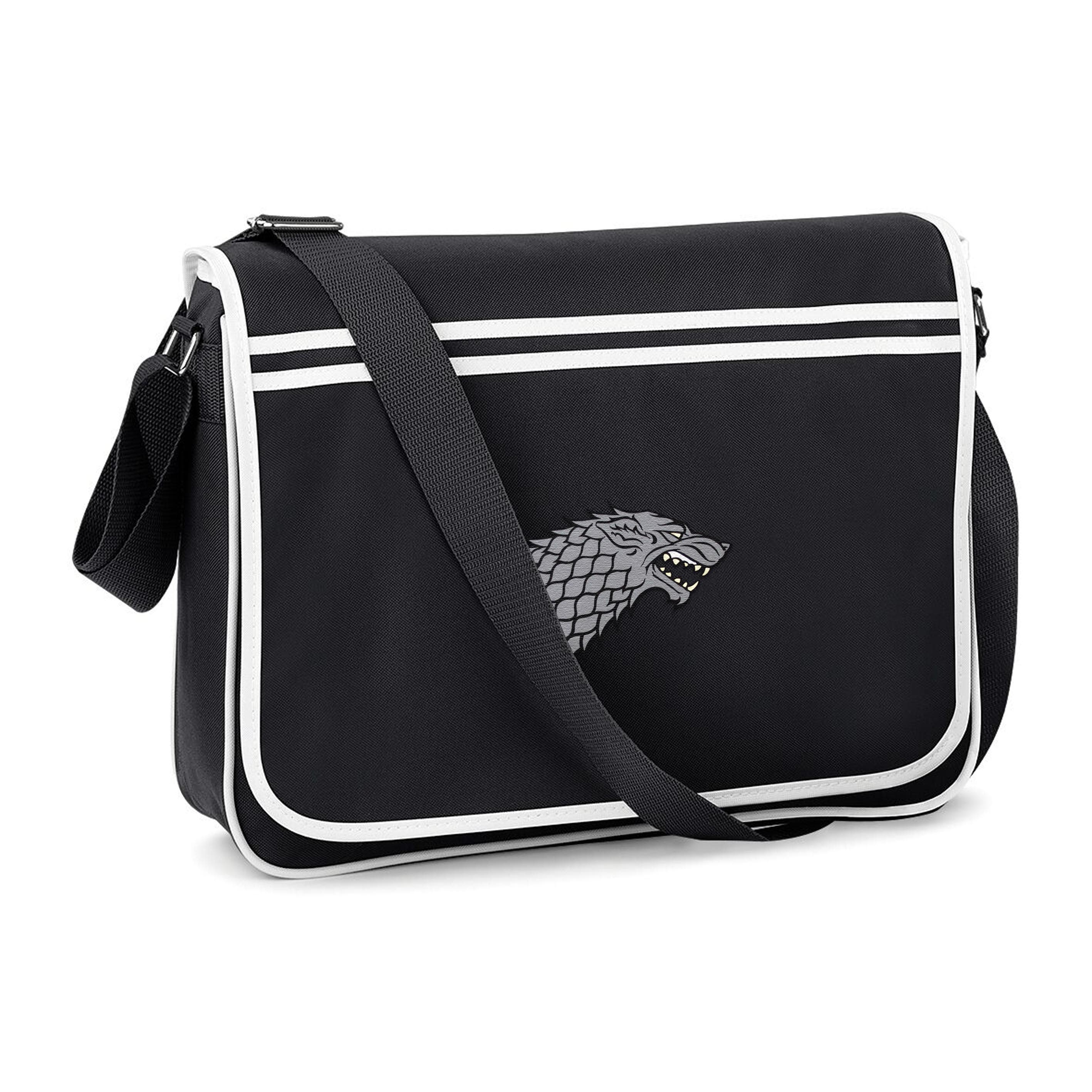 Game Of Thrones Messenger Bag Direwolf