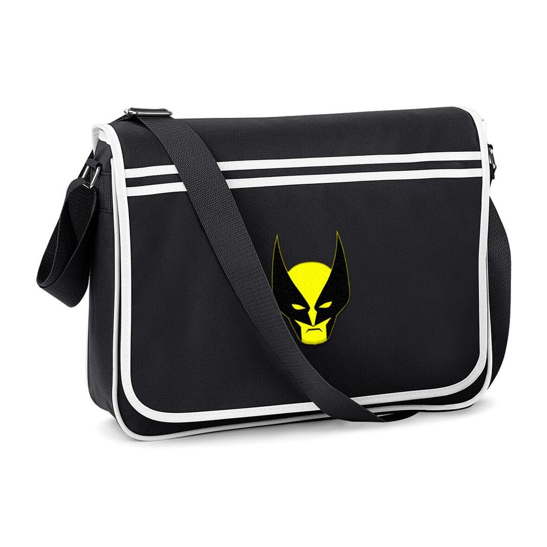 Wolverine Messenger Bag Face