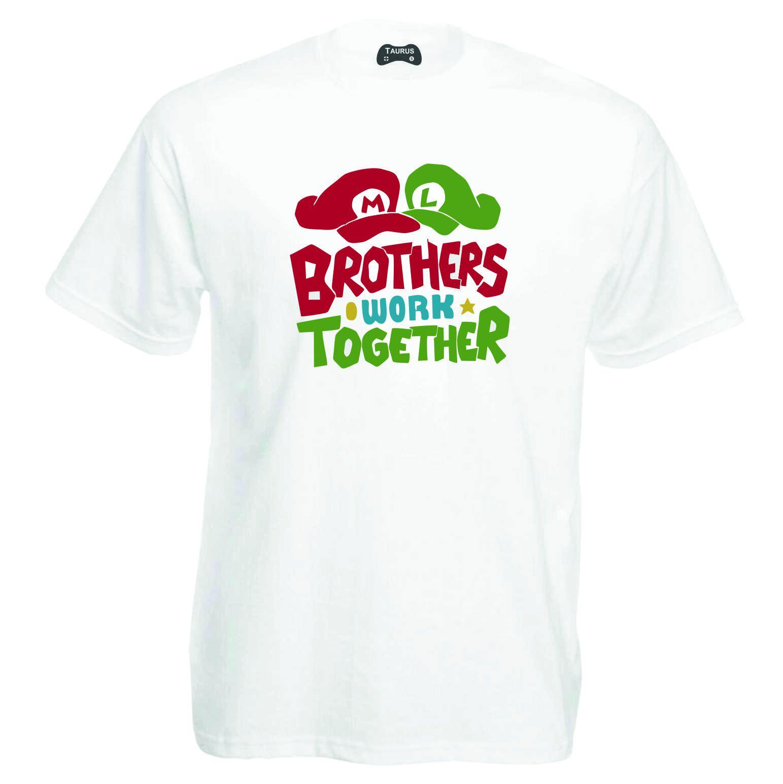 Mario T-Shirt Brothers