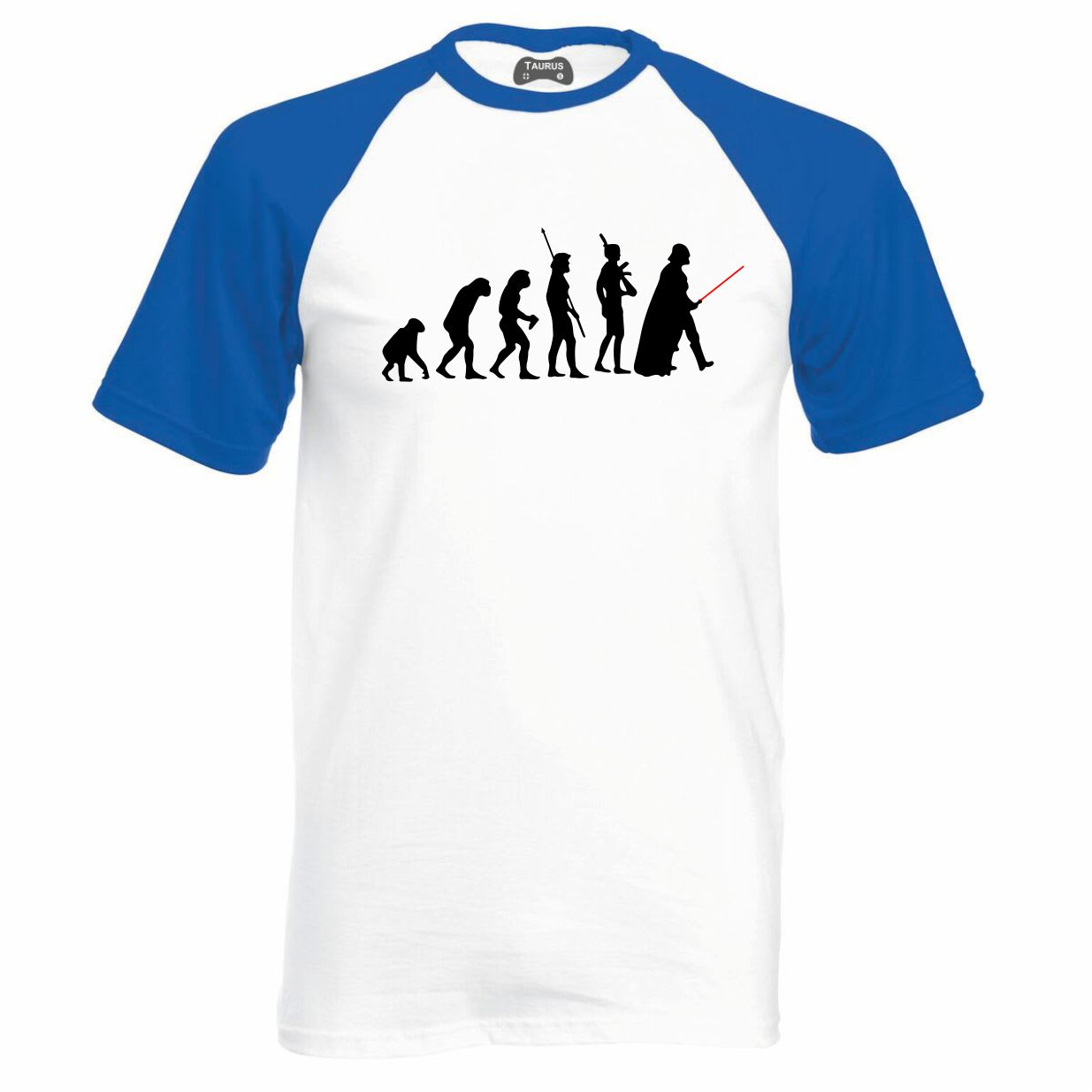 Evolution Of Star Wars Raglan T-Shirt