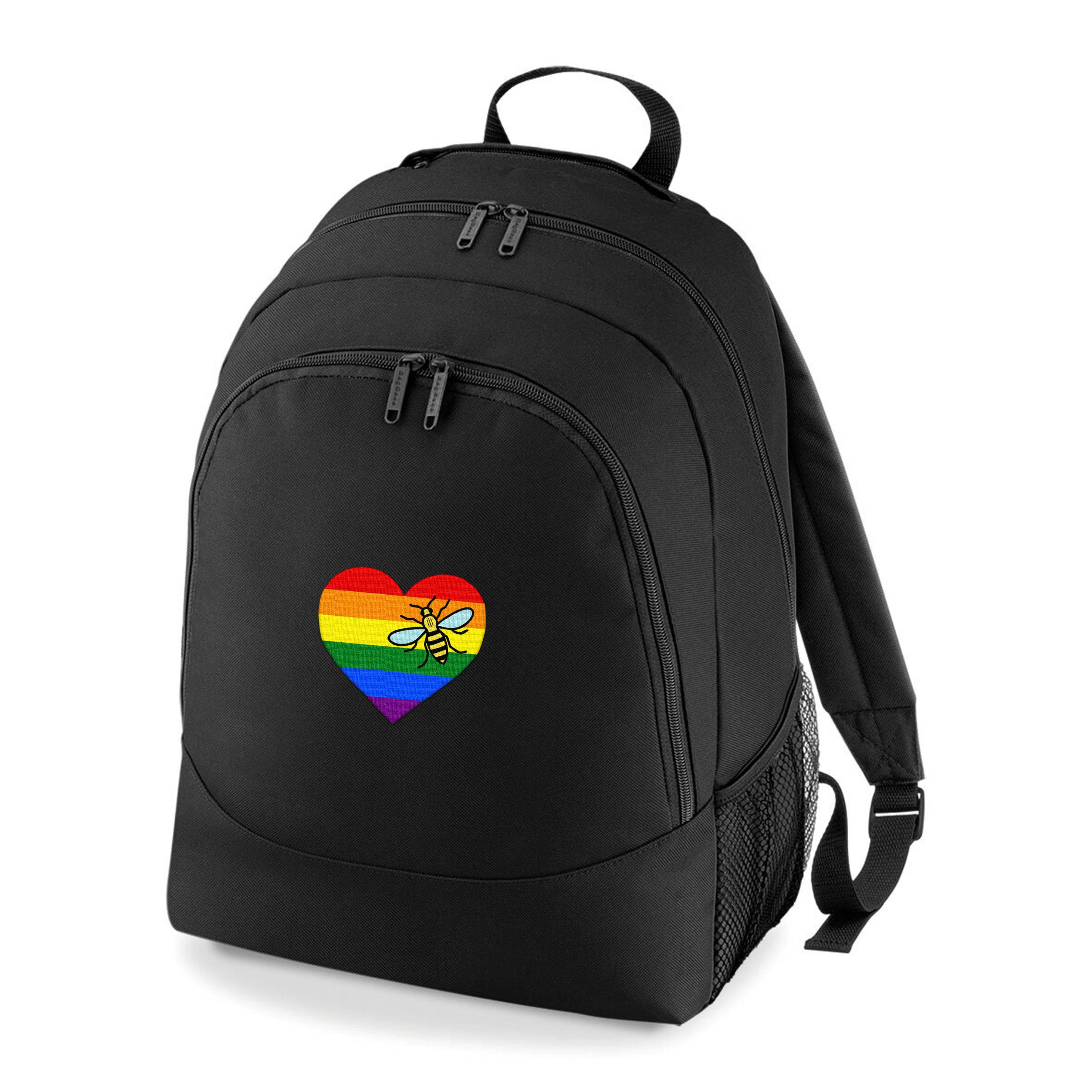 Rainbow Pride Rucksack Bag