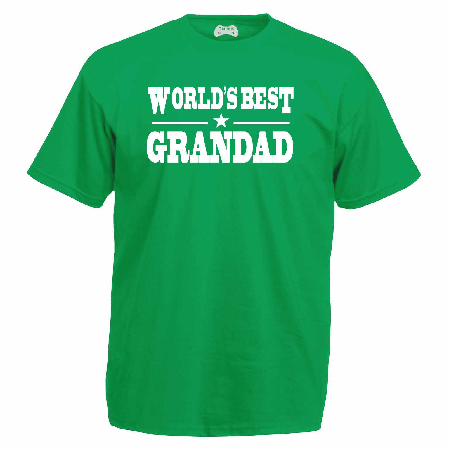 Worlds Best Grandad T-Shirt