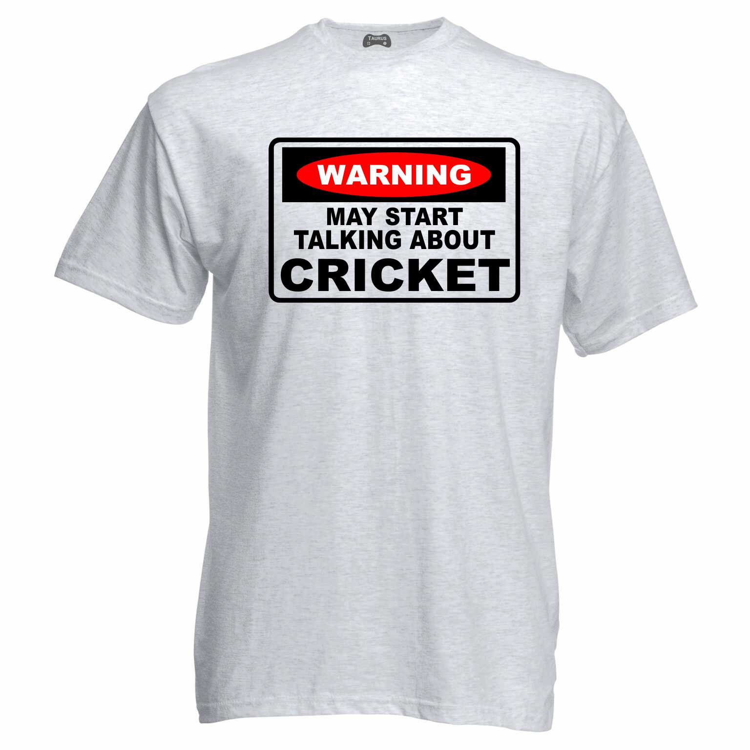 Warning Cricket T-Shirt
