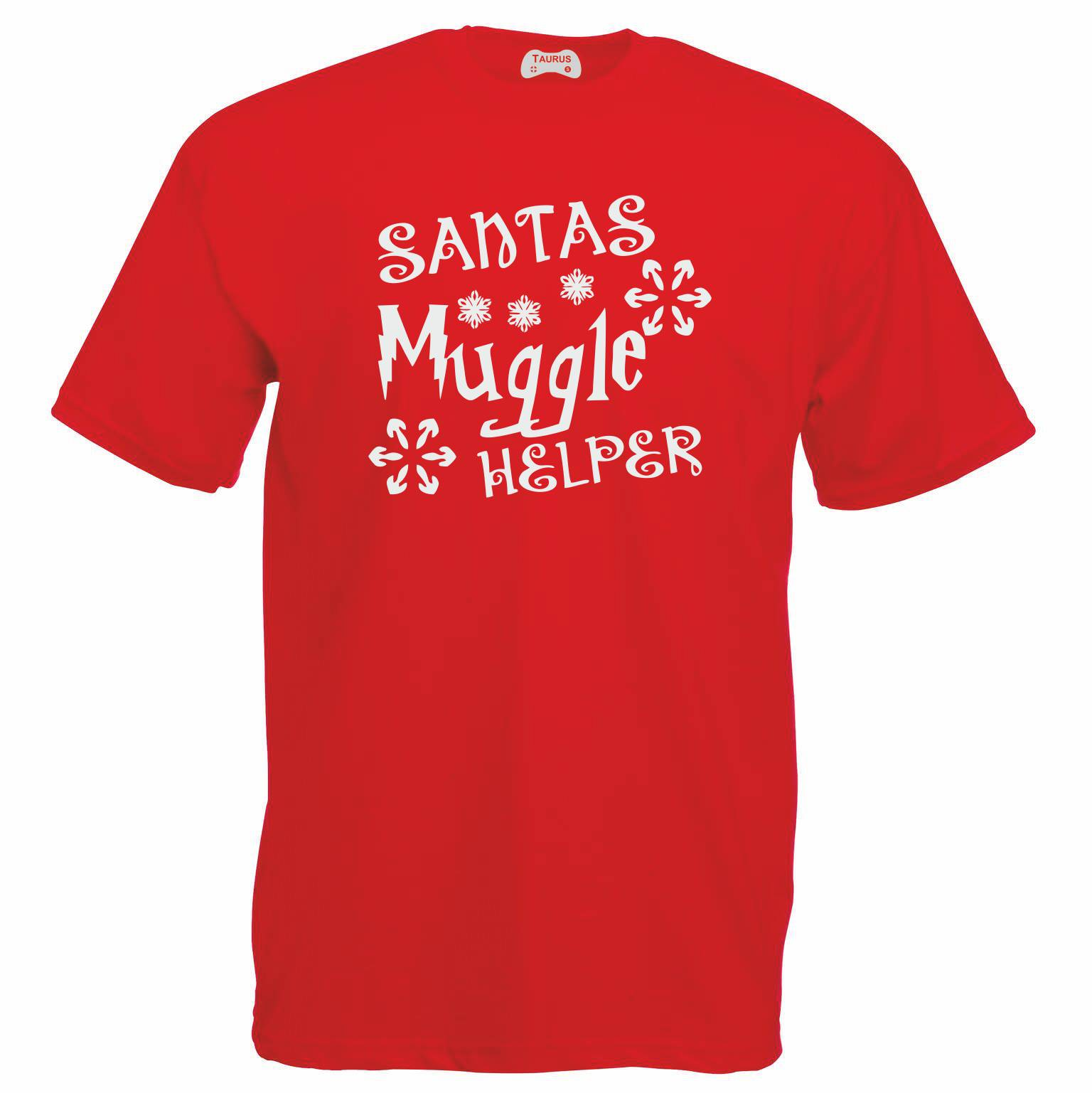 Santas Muggle Helper T-Shirt