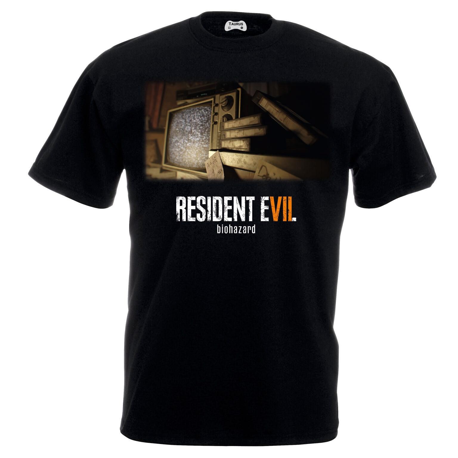 Resident Evil 7 T-Shirt Tv Room