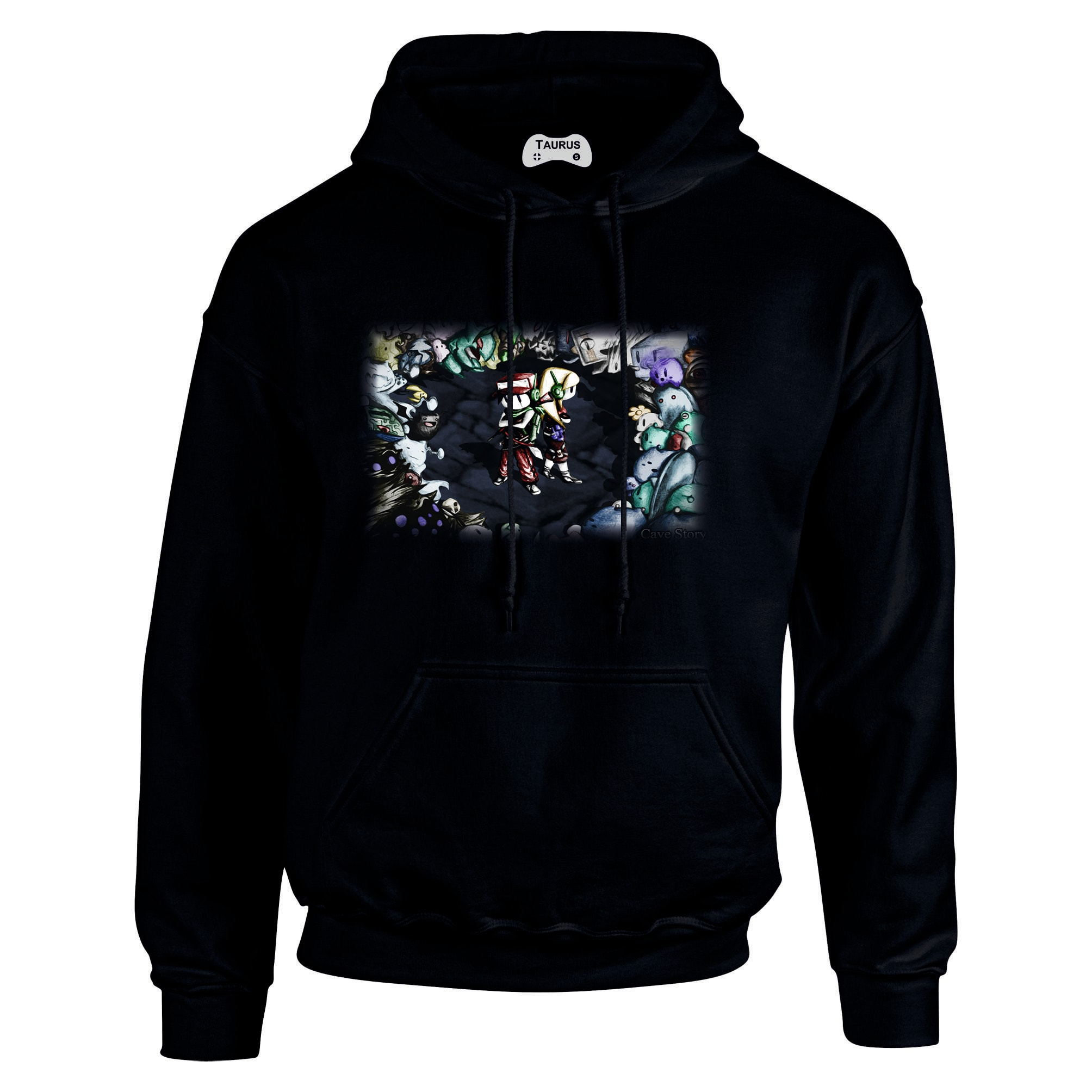 Cave Story Hoodie Quote