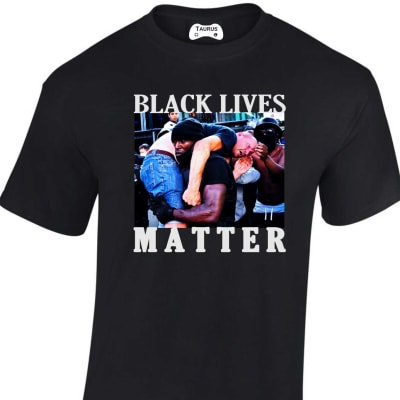 UK Black Hero Black Lives Matter T Shirt