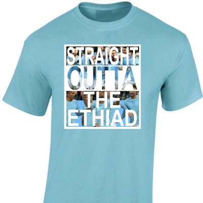 Man City Ethiad T Shirt