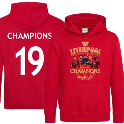 Liverpool League Champions Winners 2019-2020 Hoodie
