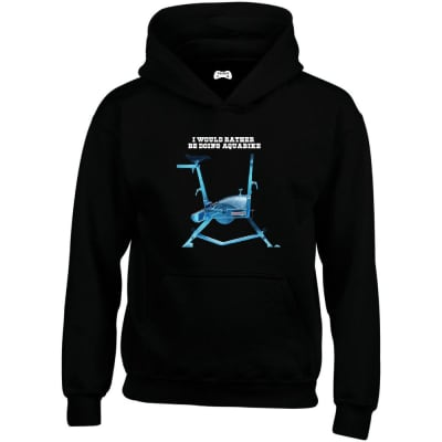 I Would Rather Be Doing Aquabike Hoodie