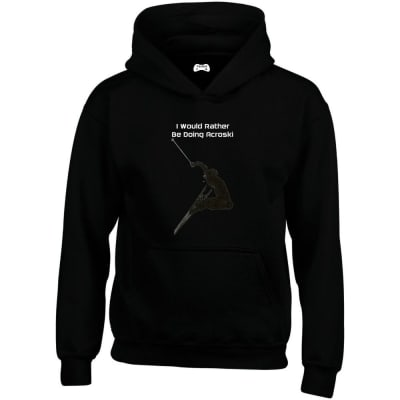 I Would Rather Be Adventure Racing Hoodie