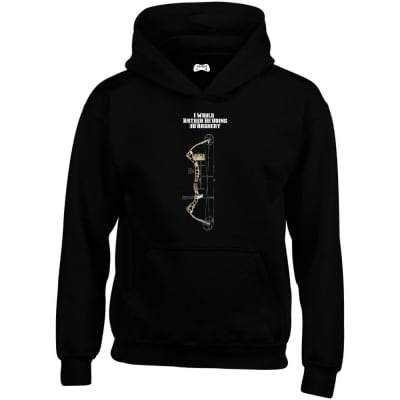 I Would Rather Be Doing 3D Archery Hoodie