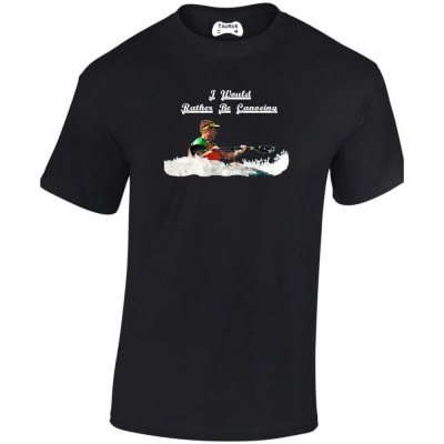 I Would Rather Be Canoeing T Shirt