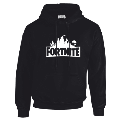 Fortnite Hoodie in Black