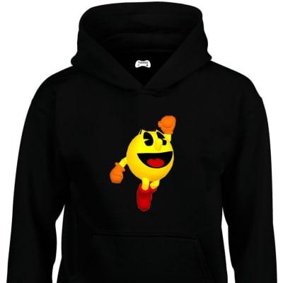 Pac-Man Classic Gaming Character Hoodie