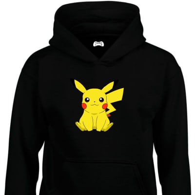 Pikachu Classic Gaming Character Hoodie