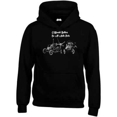 I Would Rather Be At Auto Polo Hoodie